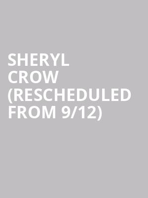 Sheryl Crow (Rescheduled From 9/12) at The Theatre at Ace