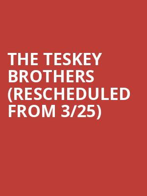 The Teskey Brothers (Rescheduled from 3/25) at Regent Theatre
