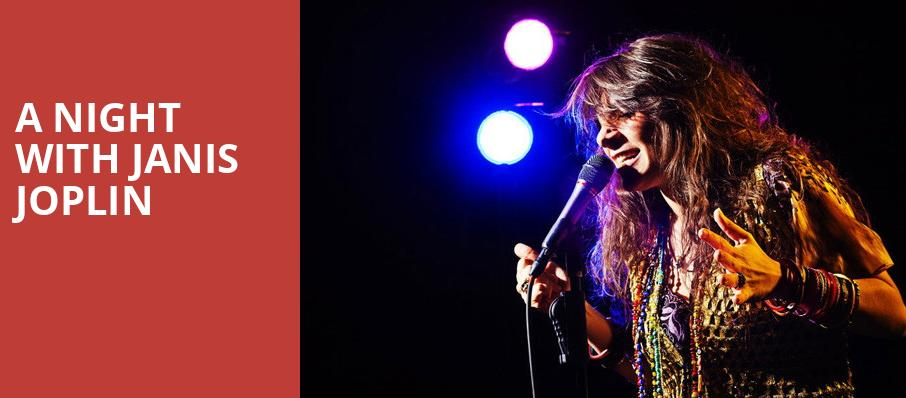 A Night with Janis Joplin, The Rose, Los Angeles