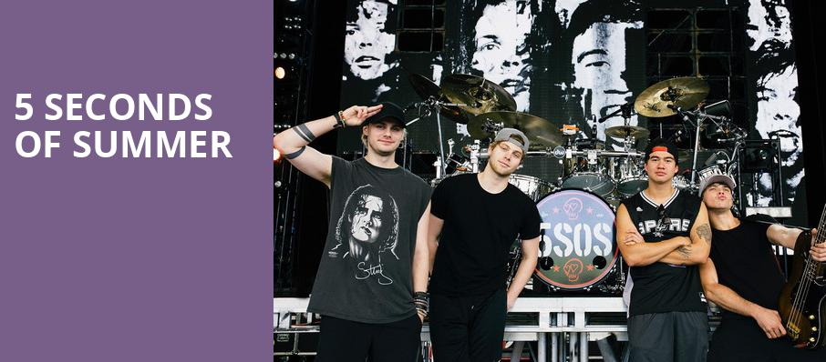 5 Seconds of Summer, FivePoint Amphitheatre, Los Angeles