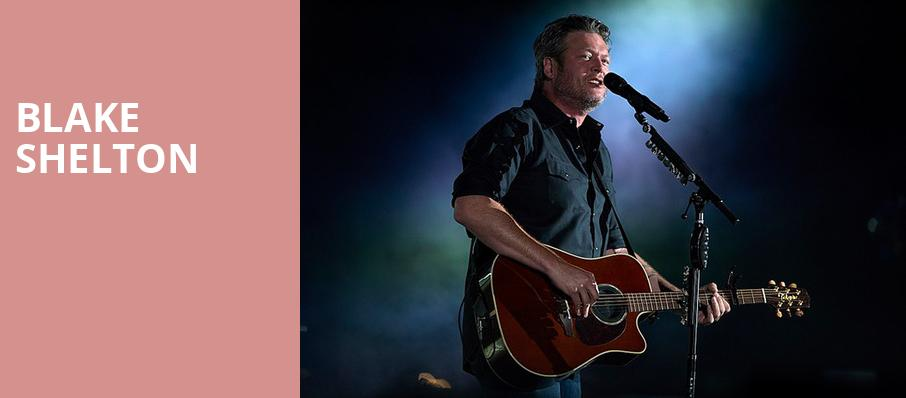 Blake Shelton, The Forum, Los Angeles