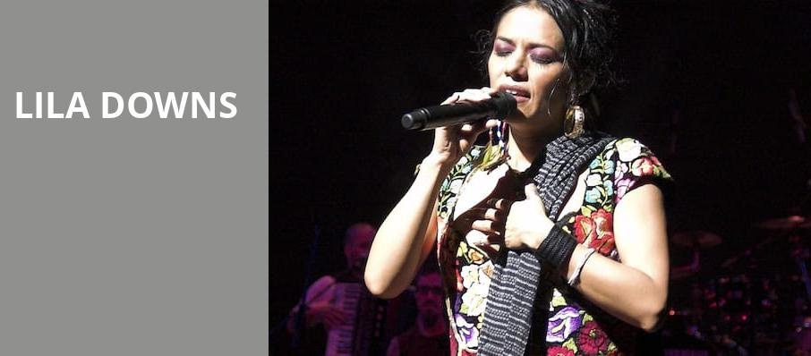 Lila Downs, Valley Performing Arts Center, Los Angeles