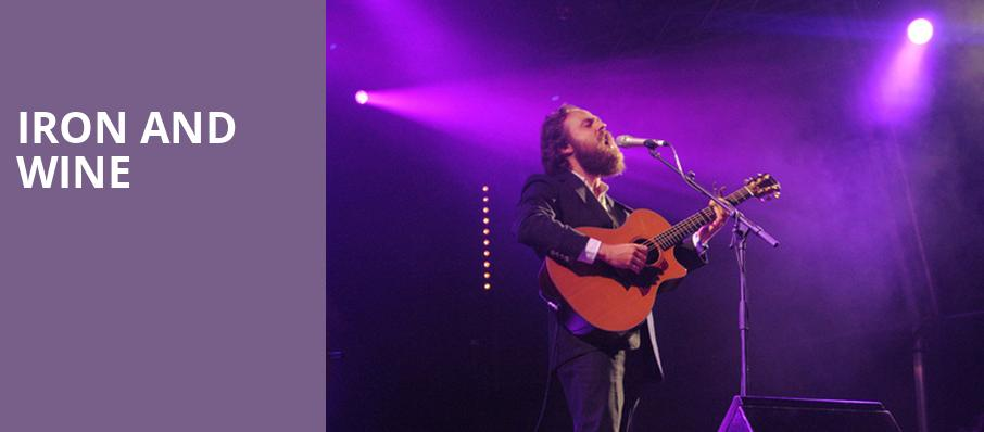 Iron and Wine, Walt Disney Concert Hall, Los Angeles