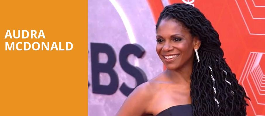 Audra McDonald, Dorothy Chandler Pavilion, Los Angeles