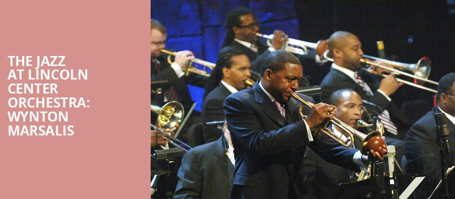 The Jazz at Lincoln Center Orchestra Wynton Marsalis, Walt Disney Concert Hall, Los Angeles