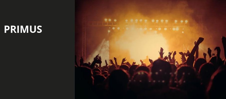 Primus, The Wiltern, Los Angeles