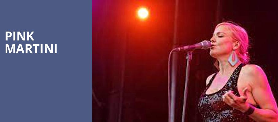 Pink Martini, Walt Disney Concert Hall, Los Angeles