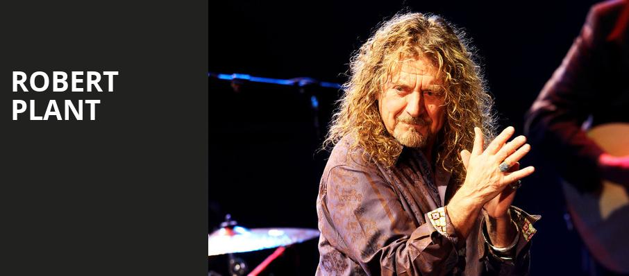 Robert Plant, Orpheum Theater, Los Angeles