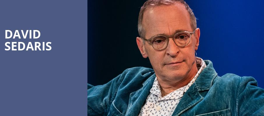 David Sedaris, Irvine Barclay Theatre, Los Angeles