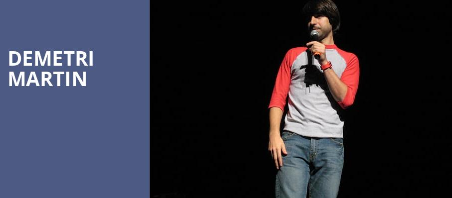 Demetri Martin, The Theatre at Ace, Los Angeles