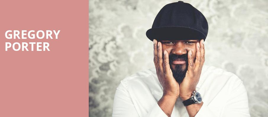 Gregory Porter, Royce Hall, Los Angeles