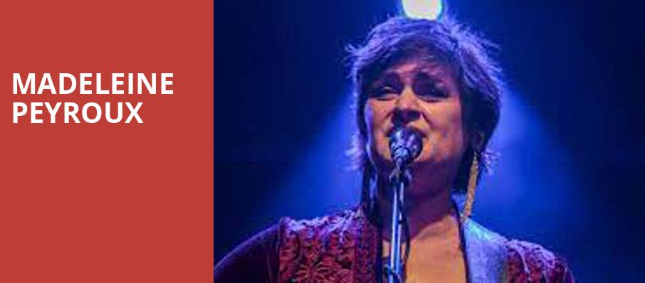 Madeleine Peyroux, El Rey Theater, Los Angeles