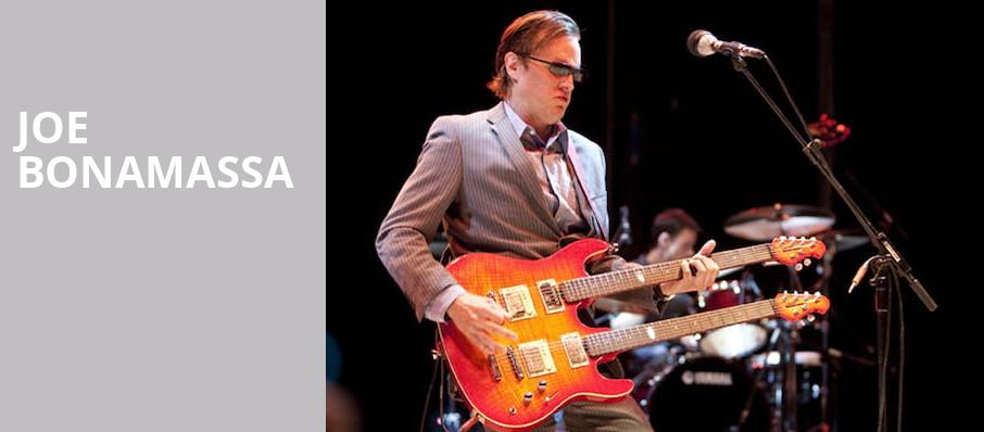 Joe Bonamassa, Fox Performing Arts Center, Los Angeles