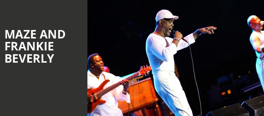 Maze and Frankie Beverly, Greek Theater, Los Angeles
