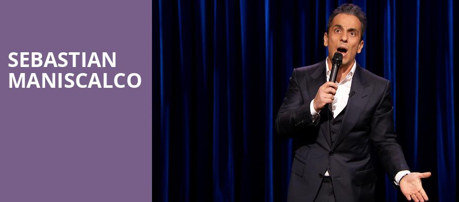 Sebastian Maniscalco, Pantages Theater Hollywood, Los Angeles