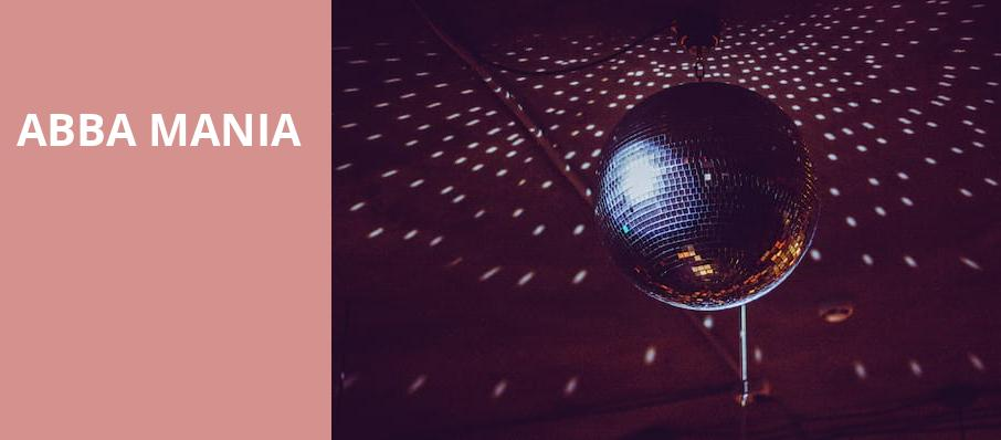 ABBA Mania, Pechanga Entertainment Center, Los Angeles