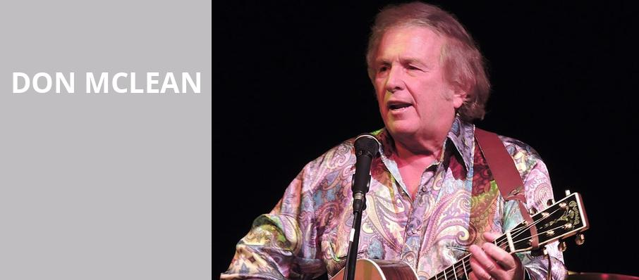 Don McLean, Saban Theater, Los Angeles