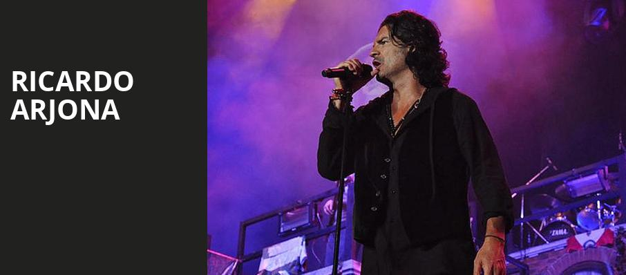 Ricardo Arjona, Microsoft Theater, Los Angeles