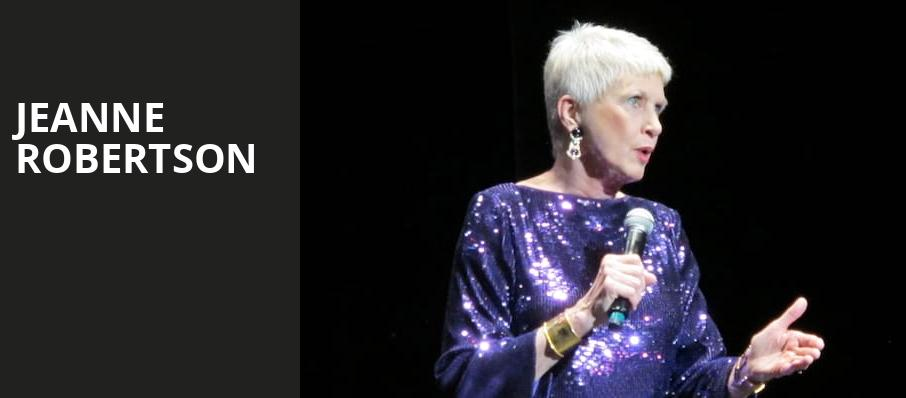 Jeanne Robertson, Fred Kavli Theatre, Los Angeles