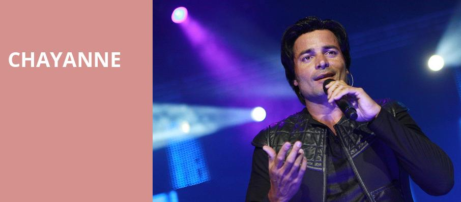 Chayanne, The Forum, Los Angeles