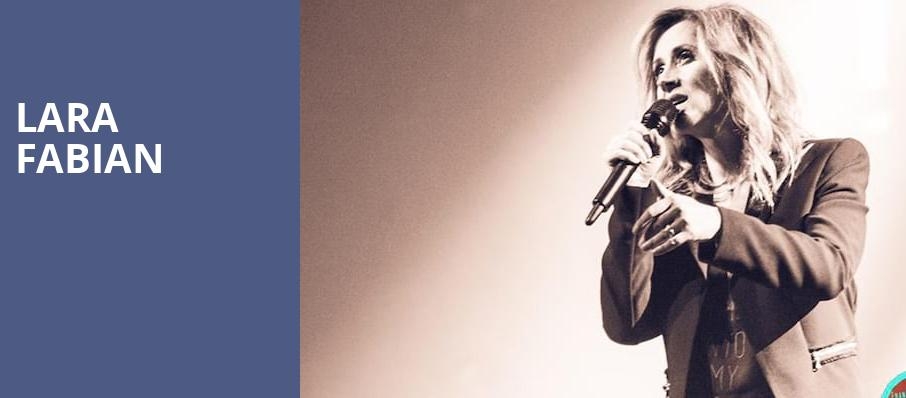 Lara Fabian, Dolby Theatre, Los Angeles