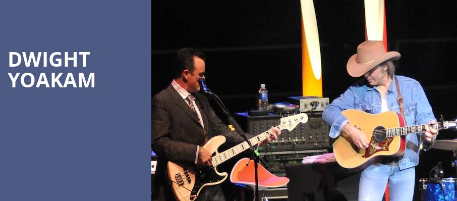 Dwight Yoakam, Majestic Ventura Theater, Los Angeles