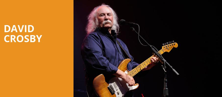 David Crosby, Fred Kavli Theatre, Los Angeles