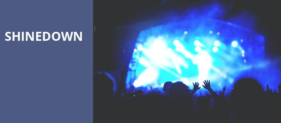 Shinedown, The Wiltern, Los Angeles