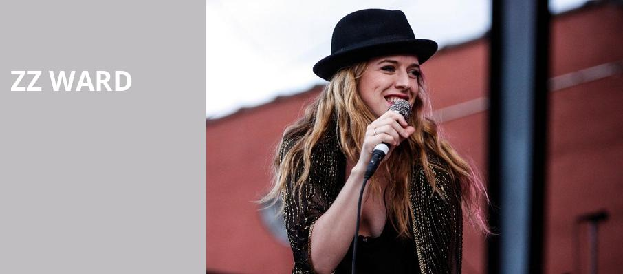 ZZ Ward, The Fonda Theatre, Los Angeles