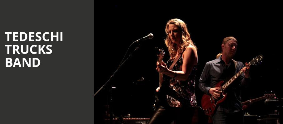 Tedeschi Trucks Band, Orpheum Theater, Los Angeles