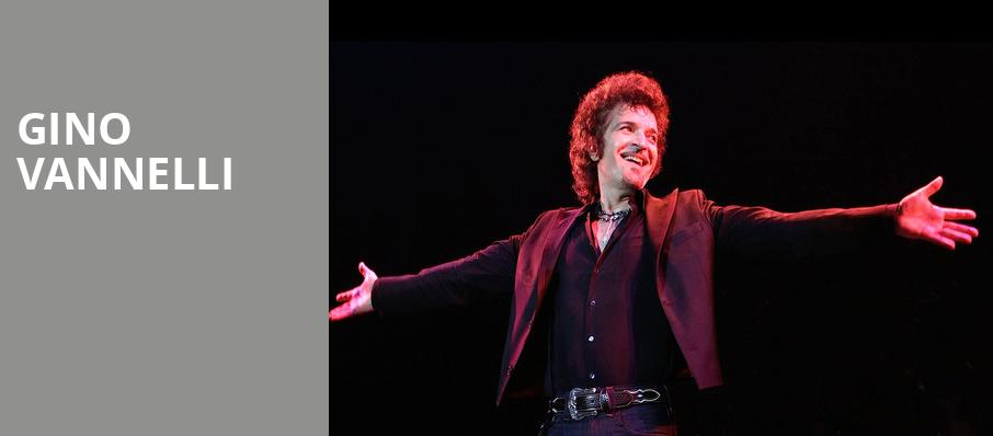 Gino Vannelli, Saban Theater, Los Angeles