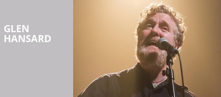 Glen Hansard, Walt Disney Concert Hall, Los Angeles