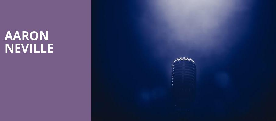 Aaron Neville, Royce Hall, Los Angeles