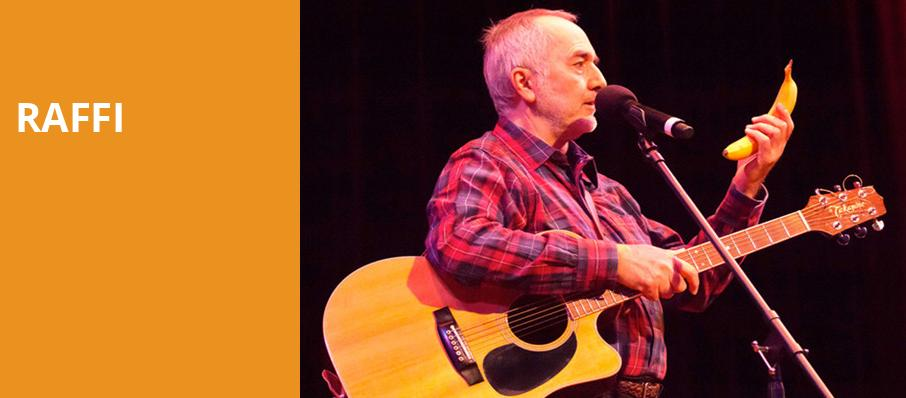 Raffi, Alex Theatre, Los Angeles
