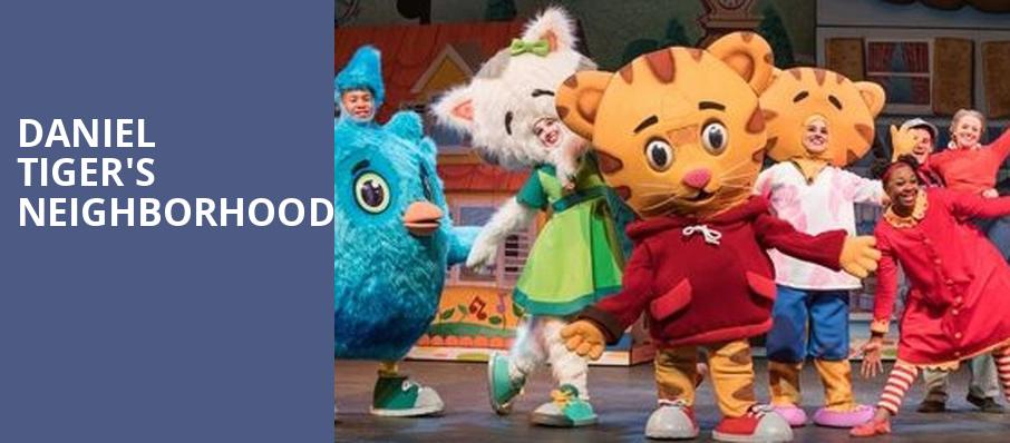 Daniel Tigers Neighborhood, Fred Kavli Theatre, Los Angeles