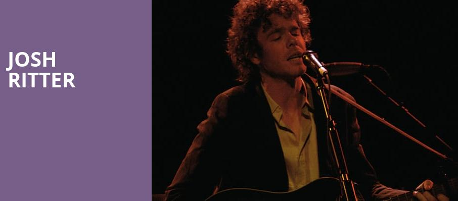 Josh Ritter, The Theatre at Ace, Los Angeles