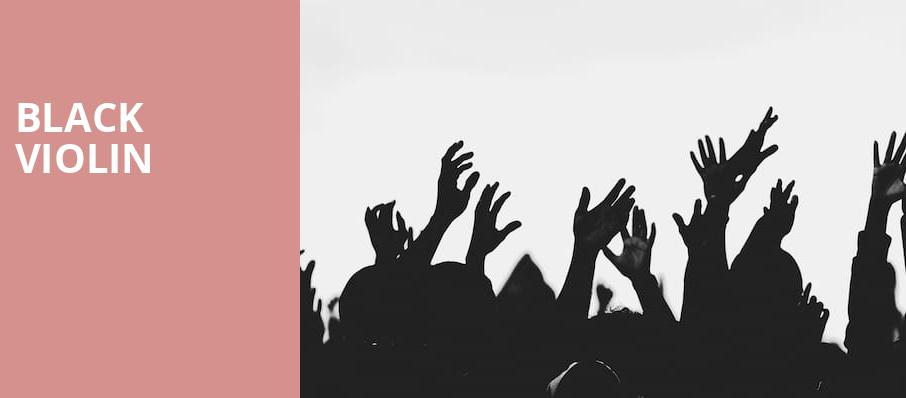 Black Violin, The Theatre at Ace, Los Angeles