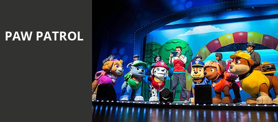 Paw Patrol, Long Beach Terrace Theater, Los Angeles
