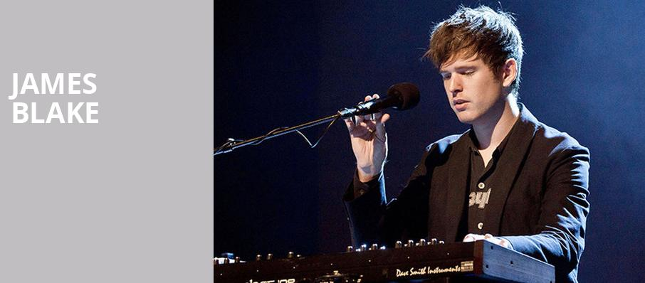 James Blake, The Grammy Museum, Los Angeles
