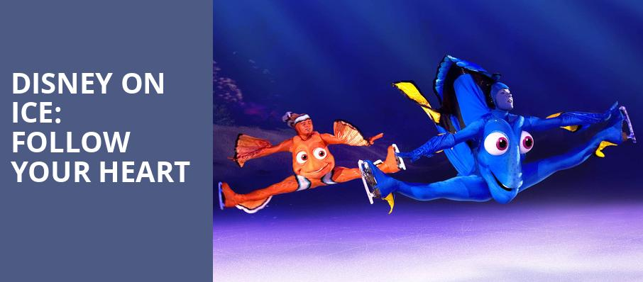 Disney on Ice Follow Your Heart, Long Beach Arena, Los Angeles