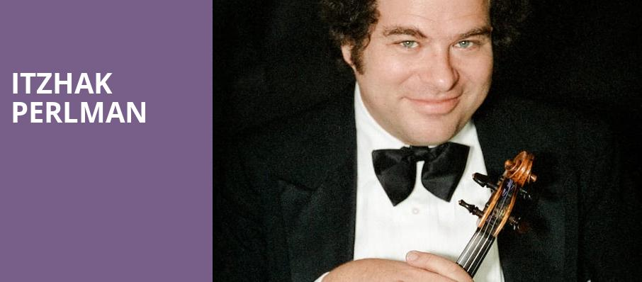 Itzhak Perlman, Walt Disney Concert Hall, Los Angeles