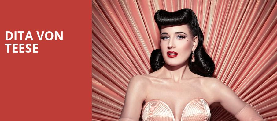 Dita Von Teese, House of Blues, Los Angeles