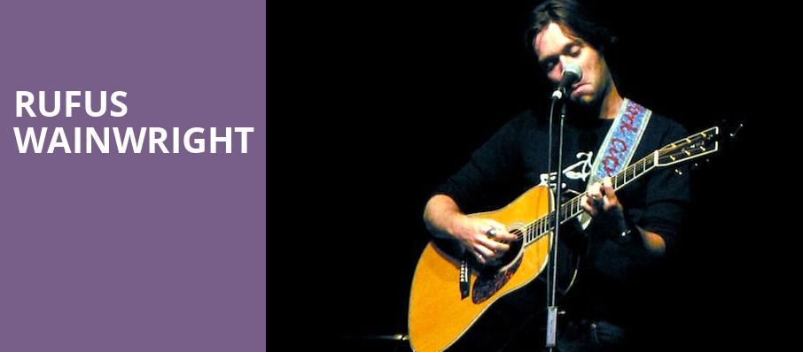 Rufus Wainwright, Orpheum Theater, Los Angeles