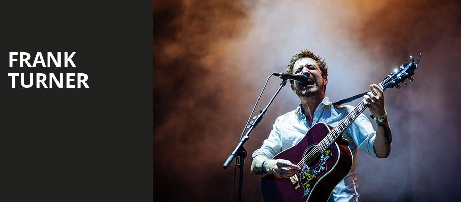 Frank Turner, Hollywood Palladium, Los Angeles
