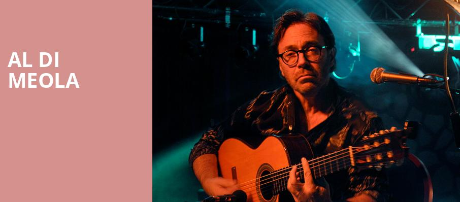Al Di Meola, Canyon Club, Los Angeles