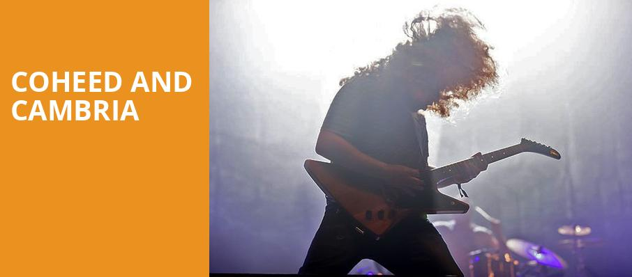 Coheed and Cambria, Galaxy Theater, Los Angeles