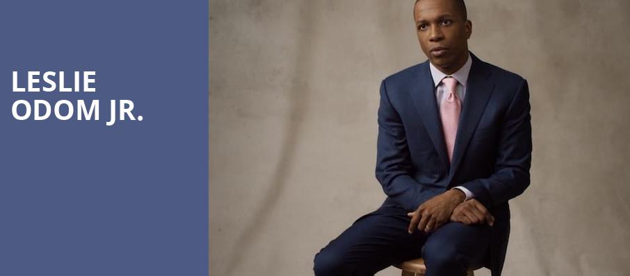 Leslie Odom Jr, El Rey Theater, Los Angeles