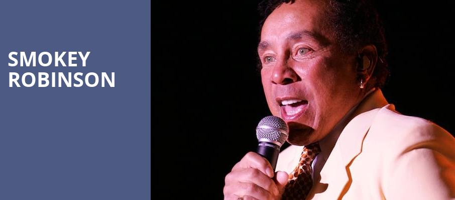 Smokey Robinson, The Show, Los Angeles