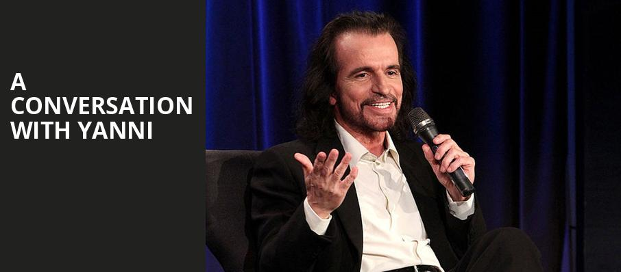 A Conversation With Yanni, Royce Hall, Los Angeles