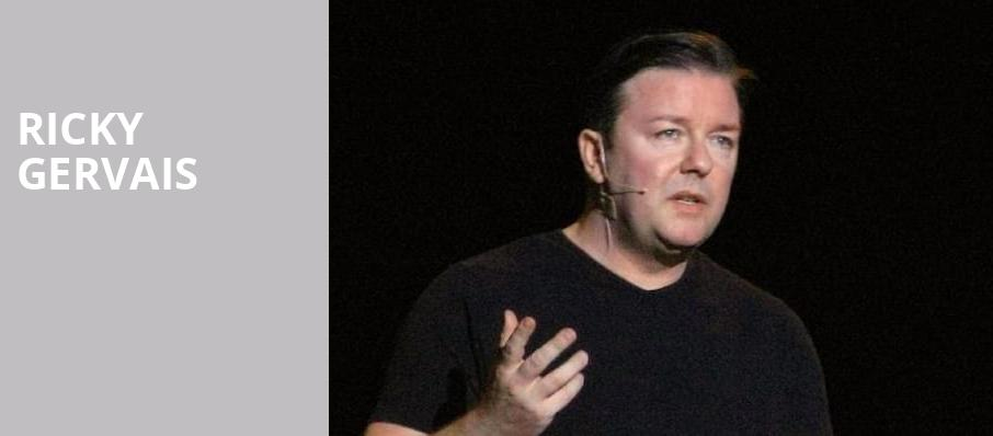 Ricky Gervais, Orpheum Theater, Los Angeles